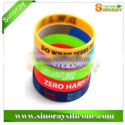 Free Sample Silicone Wristbands
