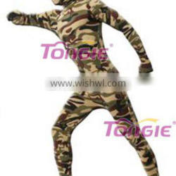 Army Uniform Military Camouflage Zentai Clothing