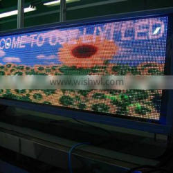 Alibaba Trade Assurance Outdoor Advertising WIFI 3G P5 Full Color LED taxi Sign / Taxi Roof Light Box