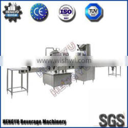 2000Bottles/Hour Red Bottle Filling and Sealing Production Line