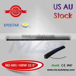 MZ Auto Lamp 32.5 inch 180W Curved LED Offroad lights 60x3W EPISTAR Super Brightness Double row LED Car lighting Jeep Boat IP67
