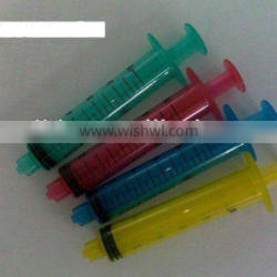Syringe with Color