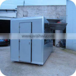 2013 Hot and Popular With Completed Equipment Accessories Mobile Food Vending Kitchen Cart XR-FV400 D