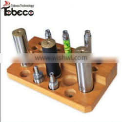 Tobeco new arrival ecig holder wooden holder for battery for atomizer and mod