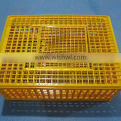 WEIQIAN Top selling best quality chicken crate for transportation plastic crate