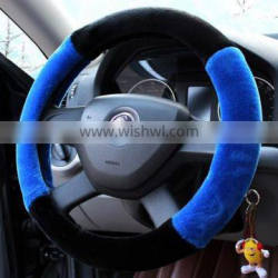 High quality wool steering wheel cover