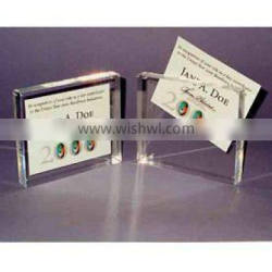 acrylic card holder, acrylic box, name card organizer