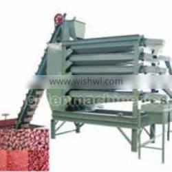Peanut sieving machine with 3/4/5 tray , kernel sieving machine
