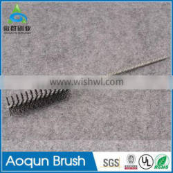 Wholesale abrasive nylon tube cleaning brush
