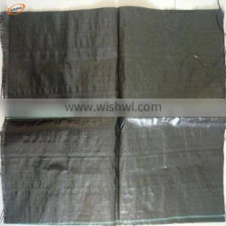 weed barrier control foldable mat & anti grass cloth cover/black ground cover price from China