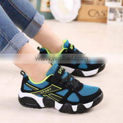 fashion stylish children sport running shoes sneakers have sample, kids sport shoes with leather mesh for boys girls