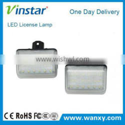 Factory price!! Car accessories led license plate lights for Mazda CX-7 CX-5