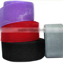 Custom shape colorful hook loop tape for hair decoration