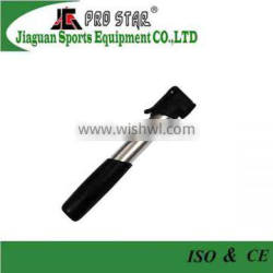 Functional Bicycle Air Pump with Plastic Handle and Nozzle