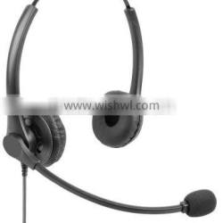 Call center USB headset , binaural earphone with mic