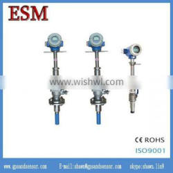 Low cost Insertion Electromagnetic Flowmeter water liquid magnetic flow meter pulse output