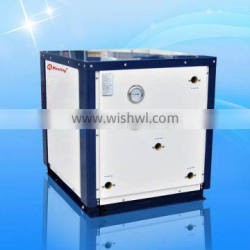 Domestic Geothermal heat pump with high quality