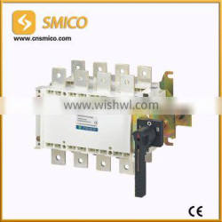 Socomec type manual trnasfer/changeover power switch 630A/4P