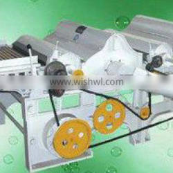 Double roller tearing machine|double roller opening machine