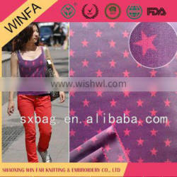 WinFar Low price Customized polyester twill fabric
