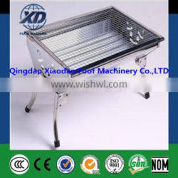 New style Stainless steel portable collapsible BBQ Grill