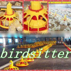 Newly designed durable automatic poultry feeding line