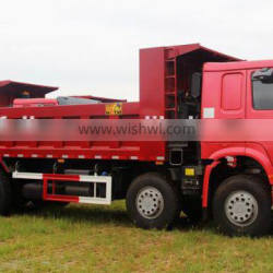 2015 New model Sinotruk Howo 380 hp tipper lorry for construction waste