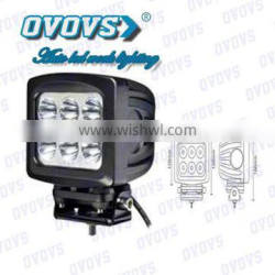 Super Bright 5.2 inch LED work lamp square 60W LED work light for truck