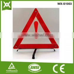 traffic accident exclamation mark warning triangle red