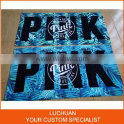 100% Cotton Character Printed Towel For Beach Manufacturer