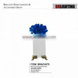 blue coral crystal table desk decorations