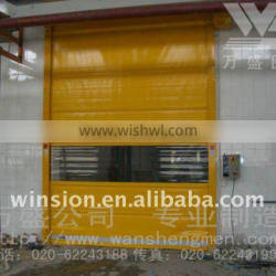 Fast automatic roll up shutter