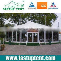 Customized Popular Multi-side event tent with glass doors and windows