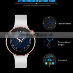 Fashion Watch AIWEAR C1 Smart Watch Mobile Wristwatch Smartwatch Siri Gesture Control Flashlight Calculator BT Heart Rate Track