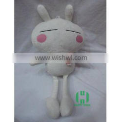 HI CE funny cute bunny plush toys,cheap stuffed animal doll toys made in China