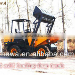 Best seller Articulated mini dumper 4x4 5tons use in construction work