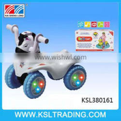 Free wheel ride on baby car with music and light for kids