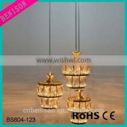 European Style Metal Crystall Ball Interior Lighting Modern Design With CE Certification