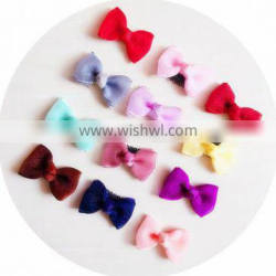 Mini Satin Baby Bows Clips Toddler Hair Bows Pastel Baby Hair Clips For Baby Shower Gift