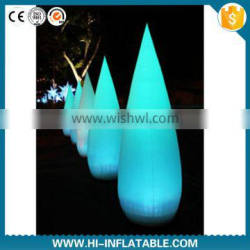 2015 newly design inflatable cone for christmas/party/stage decoration