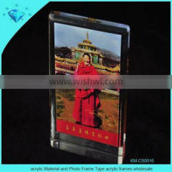 acrylic Material and Photo Frame Type acrylic frames wholesale