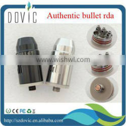 Infinte sparkle original/authentic bullet rda infinte atomizer in back or silver