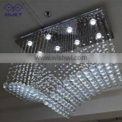 Large Luxury Crystal Lamp For Hotel/Villa/ Living Room