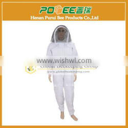 New style cotton beekeeper protection clothing on sale