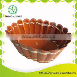 Brown candy basket