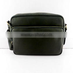 Hot selling fashion new style business genuine leather briefcase for men