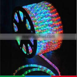 Wholesale IP44 colorful led rope light