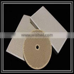 STA Infrared cordierite honeycomb ceramic plate for BBQ
