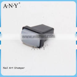 ANY Pleastic Small Size Rubber Top Cheap Nail Art Stamper