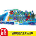 Ocean series naughty castle wooden pirate ship naughty trampoline bobo ball pool Shaoguan factory direct